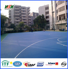 si pu outdoor synthetic Sport tennis and basketball court flooring