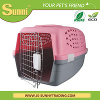 Factory customized plastic outdoor dog kennel designs