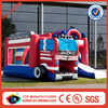 Top seller fire truck inflatable electronic bounce house