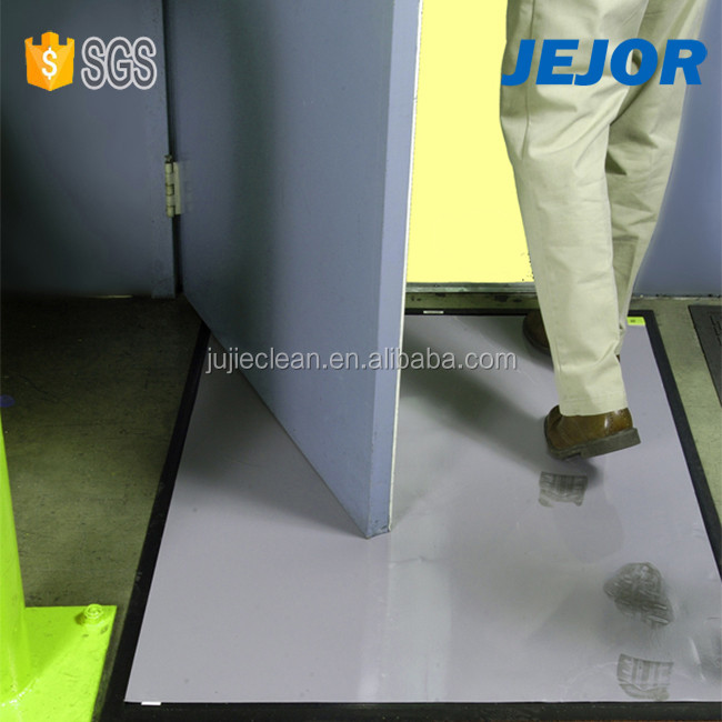 LDPE Film Antimicrobial Entrance Cleaning Sticky Mat