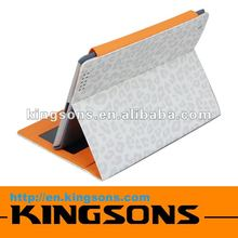 Newest fashion smart cover for ipad tablet, leather case for ipad 2/3