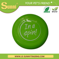 High quality 9 ultimate cheap promotional beach plastic pet frisbee