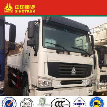 SINOTRUK HOWO HW76 cabin, with single berth, and air-conditioner 4x2 CARGO TRUCK