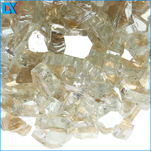 Reflective Fire Pit Tempered Glass Chips