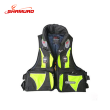 Wholesale High Quality Fishing Vest Water Sports Swimming Fishing Life Jacket Fishing Wear Safety Survival Vest Outdoor