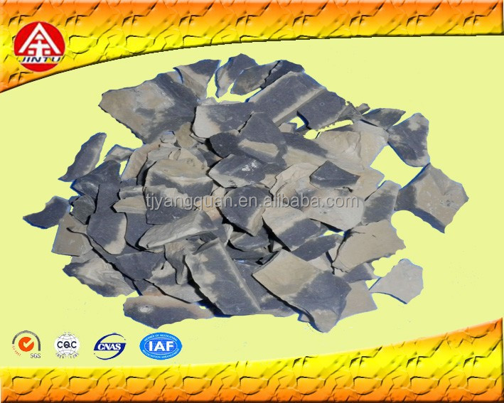 90% Round kiln Bauxite for refractory brick and castales