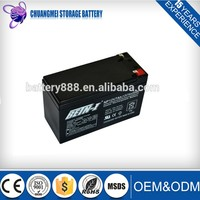 Rechargeable Sealed Lead Acid Battery Terminal 12V 7AH