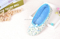 Cheap wholesale winter bedroom man slippers, woman soft sole indoor slipper