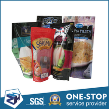 Non-corrosive customized size waterproof reusable food vacuum bags