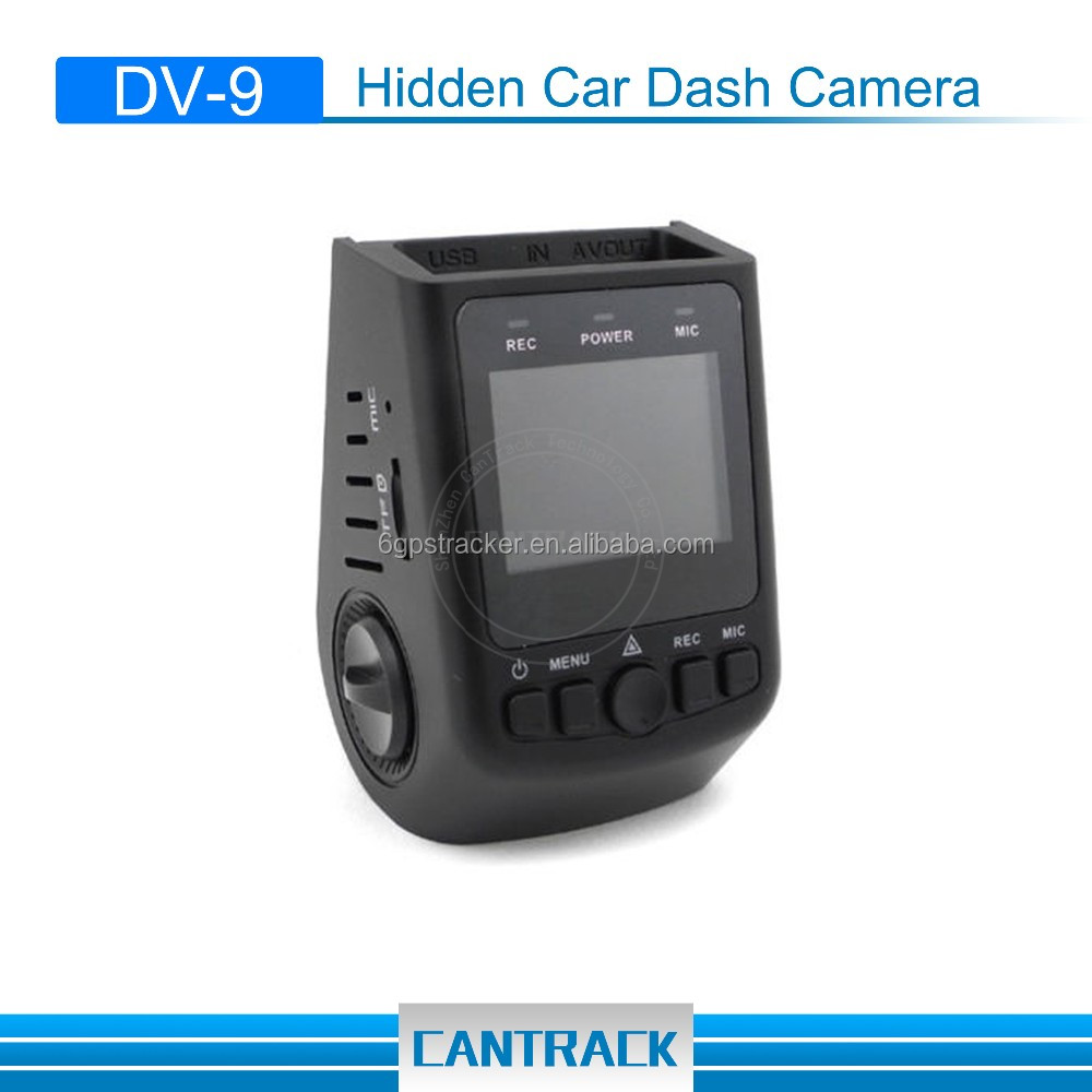 Shenzhen factory ODM cantrack smart car dvr camera car video recorder mini 1080p dvr car camera with g-sensor