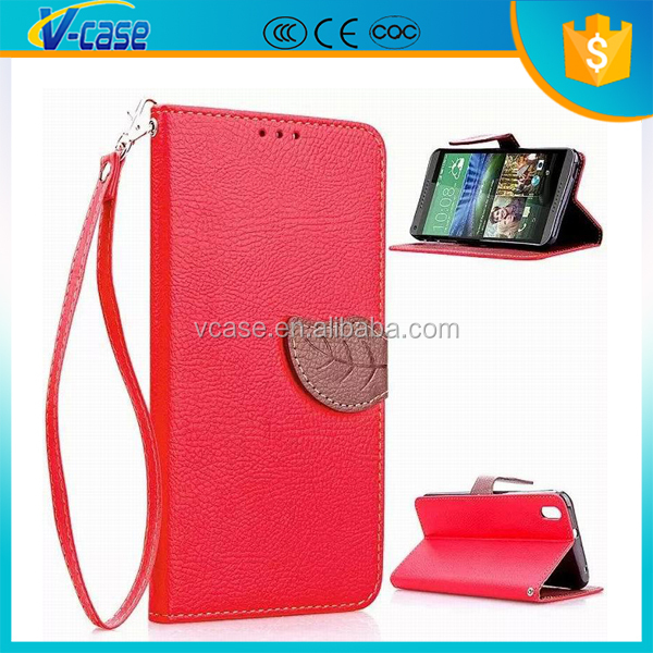 leather flip cover for HTC incredible S ,OEM colors PU Leather Wallet Flip Case Cover for HTC incredible s/ s710e