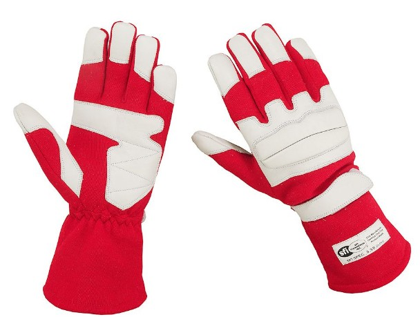 Nomex Knitted Fabric Car Racing Gloves
