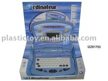Hot children educational toy French learning laptop toy IZZ81753