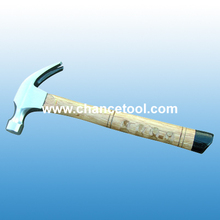 American type claw hammer with wooden handle ST004