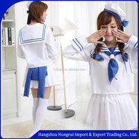Navy sailor suit navy cap European and American popular character cosplay uniforms wholesale sexy nightclub clothes student