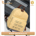 school backpack folded washable kraft paper bag fashion student backpack