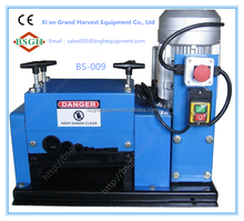Low price current lead cutting machine wire cable peeling stripping machine