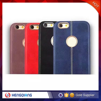 Top Selling Leather Phone Case PU Leather Back Cover Case for iPhone 6 Case