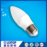 Chinese factory smd 2835 E14 E27 led candle light