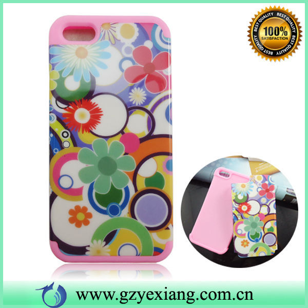 China Supplier Hot Mobile Phone Design Double Sided Case For Iphone 5