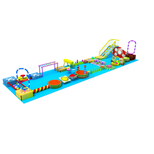 Factory customized new design safety large children commercial indoor playground equipment