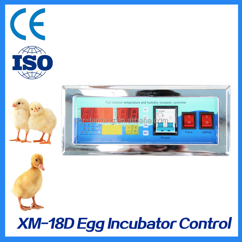 Factory Price Temperature and Humidity Egg Incubator XM-18D Controller