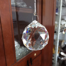Faceted crystal ball 40mm for chandlier,crafts, DIY ball for hanging, Curtian from YINGUANG