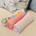 Fashion Design Lovely Printed Baby Blanket In Cotton