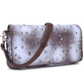 Standard size painted fashion washed PU women shoulder bag
