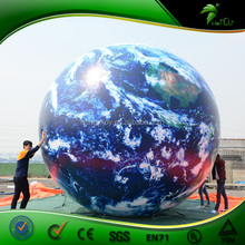 15 Feet Giant Attractive World Map Inflatable Earth Globe Helium Balloon