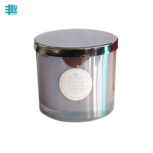 FJ067 wholesale fragrance candle making scented coconut wax in glass jar