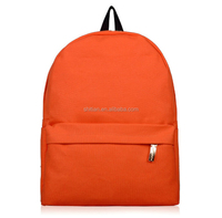 Canvas Satchel Backpack Bag for Kids School Book Bags with Customized Logo SJ134