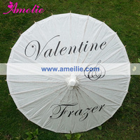 Customized Printed Chinese Paper Umbrella for Wedding