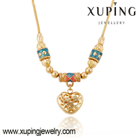 42931 Xuping statement necklace 2015 fake alloy fashion elegant jewelry