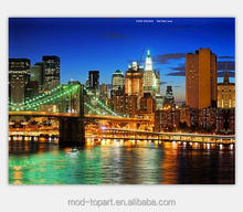 New York City secery LED canvas paintings for decoration