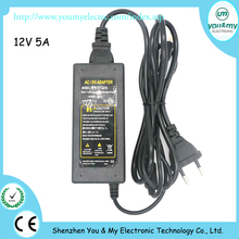 High Quality Universal 12V 5A Power Supply