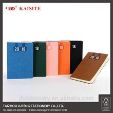 new design PU leather factory notebook and diary made in china