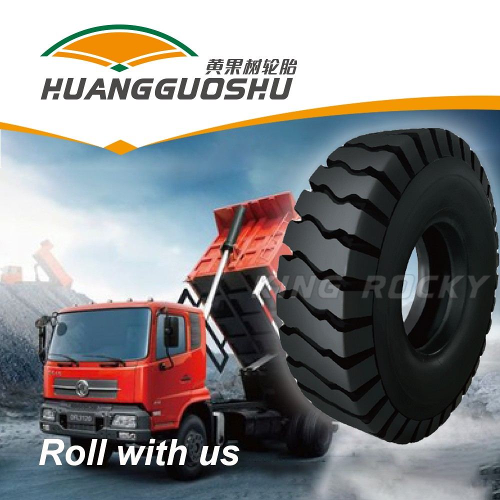 high resistance mining tyre 14.00-20 for 6 wheel dump truck