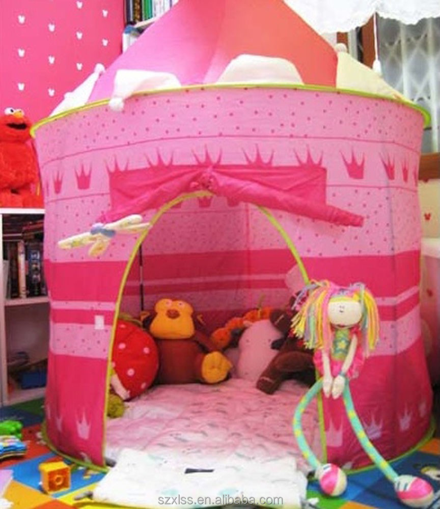 OEM beautiful popup princess lotus belle tent