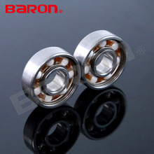 608 deep groove ball bearing with silicon nitride white or black ceramic ball