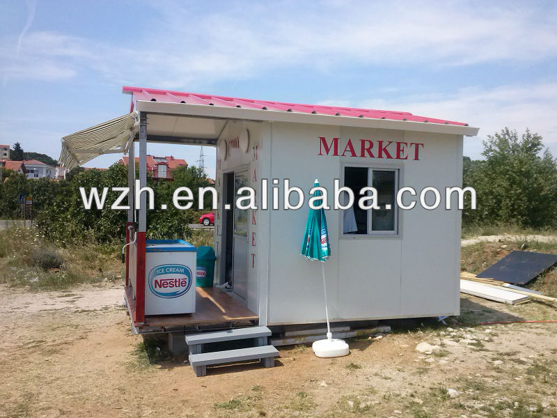 Croatia Mobile Prefabricated Shop/Market