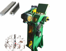 automatic metal razor wire clip staple machine