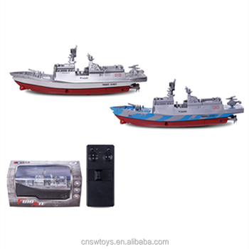 YK0809528 Latest design remote control toy submarine rc warship toys