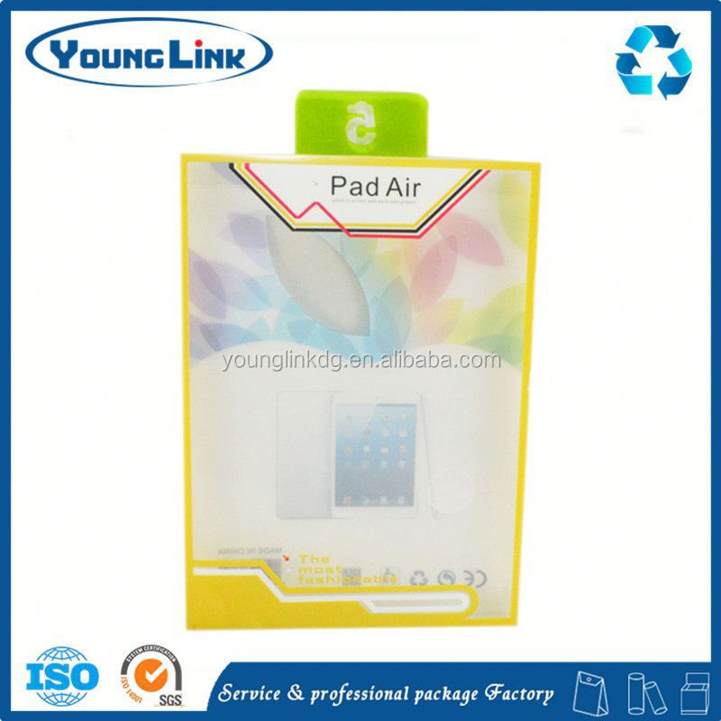clear hard plastic box for phone case/retail crystal packaging with pallets