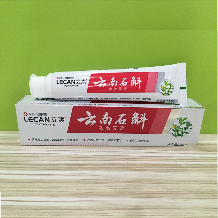 OEM supply Herbal Toothpaste OEM 20 years production experience