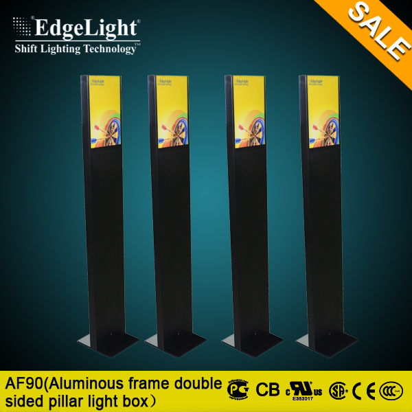 Edgelight Professional New picture frame backlit wholesale light boxes with led moving sign