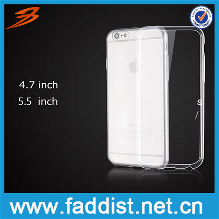 2015 Newest Ultrathin TPU Case for iPhone 6 plus tpu case