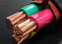 Low Voltage Copper Conductor XLPE Insulated Electrical Power Cable 5x25mm2