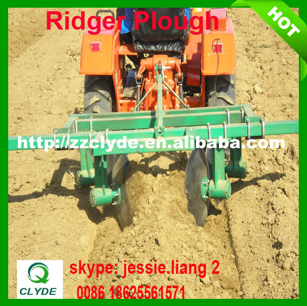 Tractor disc ridger with CE certificate