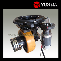 horizontal wheel unit drive assembly/ Series Excited motor, Separately Excited motor